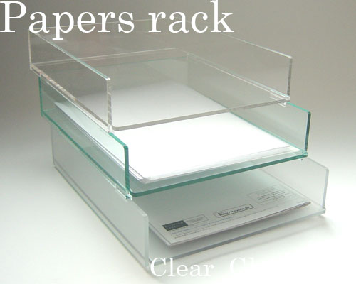 Papers rack